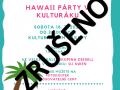 Hawaii party - zrušeno